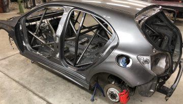KNAF / FIA Rolkooi Mercedes A45 AMG